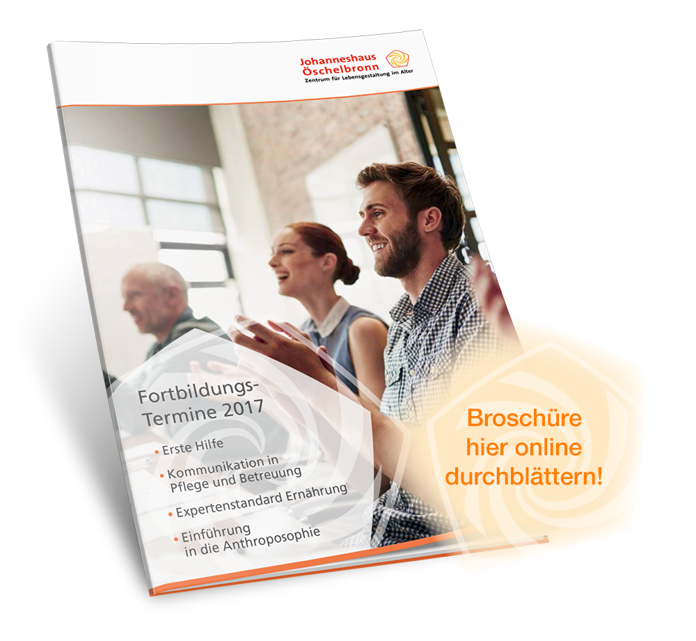 Johanneshaus Öschelbronn Teaser Fortbildung