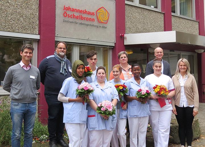 Das Johanneshaus Öschelbronn gratuliert den 6 Schülereinen und Schülern zum erfolgreich absolvierten staatlichen Examen.